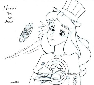 Happy 4th, Aurora!  by Anime-Ray