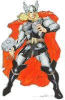 The Mighty Thor by aaronlopresti