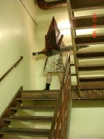 Pyramid Head Stairwell 1 by Concolor22