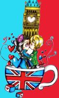 Big Ben's Cup of Tea by CUTE-ChibiMONSTERZ