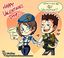Happy Valentine's Day! by Resident-evil-STARS