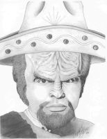 Spanish Worf by angelacapel