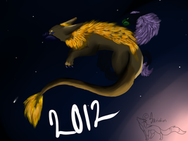 2012 dragons by Saridim