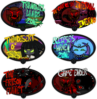 Prison Planet Level Icons by FierceTheBandit