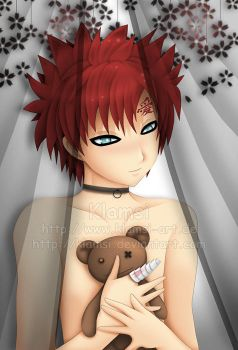 Gaara and Teddy by Klamsi