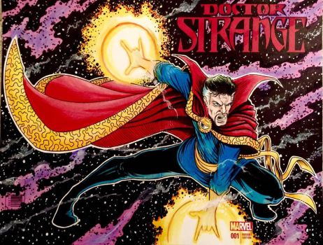 Dr Strange Sc by thedavemyers
