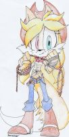 Lassy's new design (hand drawn) by SkyBreeze09