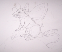 consept art rat fairy v1 by HarvestPicori