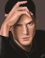 :wentworth miller: by Maggy-P