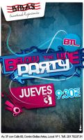 Fly below the line Party by renmo