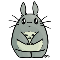 Totoroo~ by BlueSSunshinee