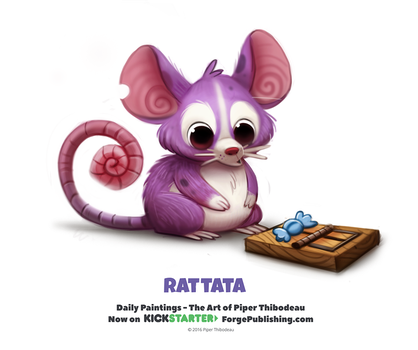 Pokemon - Rattata by Cryptid-Creations
