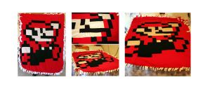 Mario quilt by LaMerry