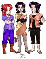 Daughters of Z by agra19