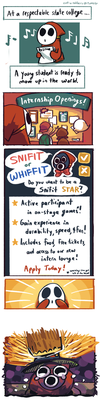 Snifit or Whiffit! by BearWithGlasses