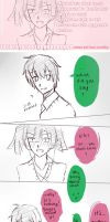 [TakaHaru] I want to say it [KagePro Comic] by Qisloid