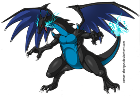 Mega Charizard by Osmar-Shotgun