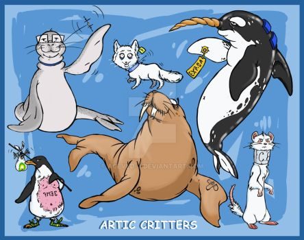 Critters Model Sheet by Aceved-0