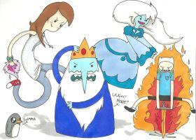 Damn Ice king: AT by THEsquiddybum