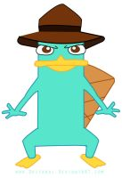 Perry the platypus by Drifandi
