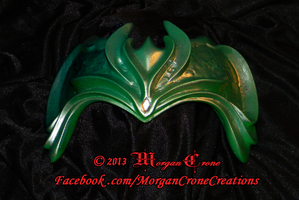 Green and Silver Diadem View #4 by MorganCrone