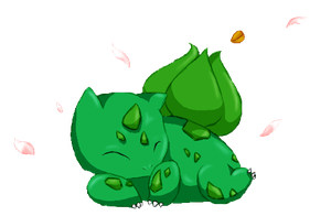 Sweet Bulbasaur for my mummy by Yui-the-Echidna