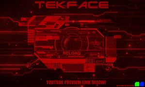 TekFace Rainmeter skin by Thyrring