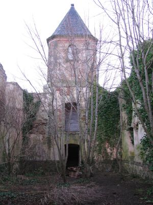 Places 695 church ruin by Dreamcatcher-stock