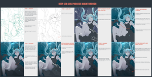 Deep Sea Girl Process by Tiribrush