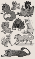 October Sketches 2015 by Chipo-H0P3