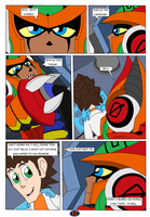 Mighty Number 9 Raychel past and future page 10 by DarkHedgehog23