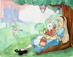 Alice in Wonderland by dandansama
