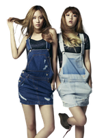 Fei y Min (Miss A) PNG [render] by GAJMEditions