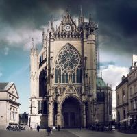 The Gothic Lady - Metz by Marcusion