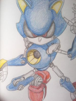 Metal Sonic by XSlappyTheDummyX