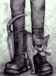 Puss and Boots by princevansii