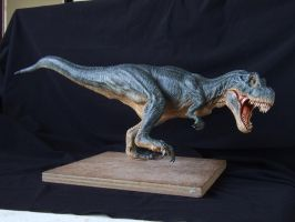 T-Rex sculpt in super sculpey, pic 2 by revenant-99