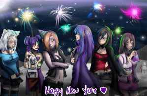 Happy new Year! by Hagyr