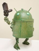 assemblage droid 2 by rupertvalero