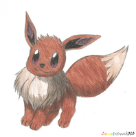 Eevee by ComIsybell