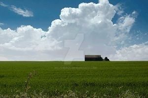 Barn on the Hill by welshbeck