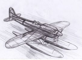 Supermarine S6B Racer by grievous15