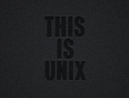 this is unix by mdh3ll
