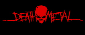 Death Metal - logo by Tonito292