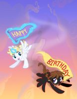High Flying Birthday by SapphireGamgee