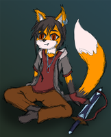 Fox Boy by Inatervo