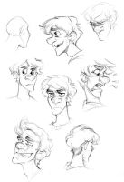 Rylan expression sketches by pai-draws