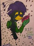 R.I.P ~ Tino Insana by WardenDarkwingArtist