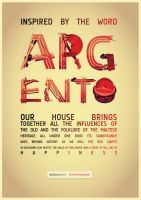 Hand crafted font Poster by mangion