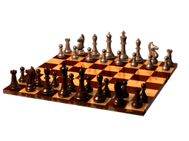Chess Set in 3ds Max VC210 by KKP2420